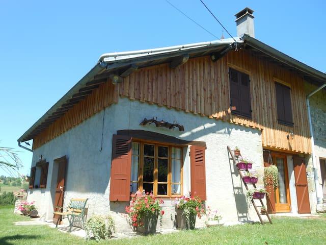 Maison savoyarde typique  - ST PIERRE D'ALVEY - Casa