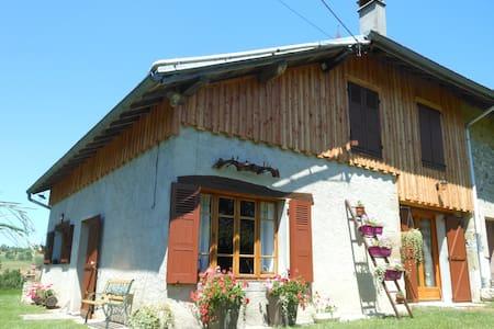 Maison savoyarde typique  - ST PIERRE D'ALVEY - Haus