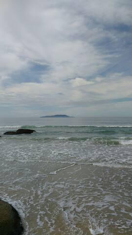 mar exuberante, um paraíso.