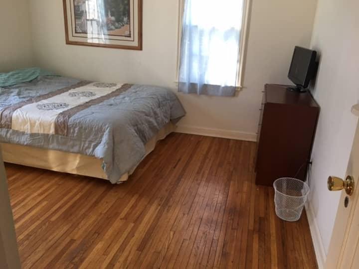 A pleasant bedroom