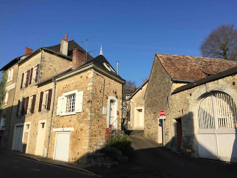 14th Century Toll House in Avoise-sur-Sarthe