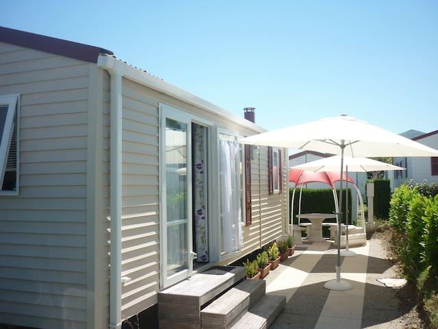 Mobil Home dans un camping calme et convivial