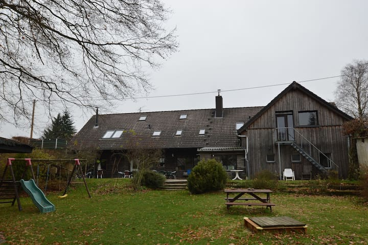 A group house furnished in a modern style, near the picturesque town of Monschau.