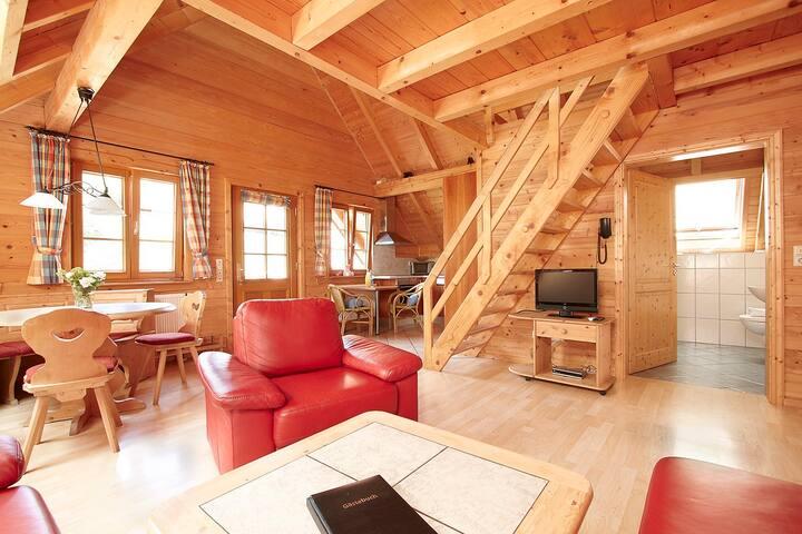 Saustall-Fewo, Außenbereich, Natur pur, Ferienhaus
