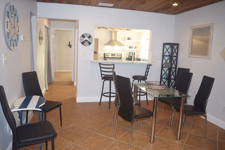 New Beautiful & Unique Townhome! 1 Mile From Port!