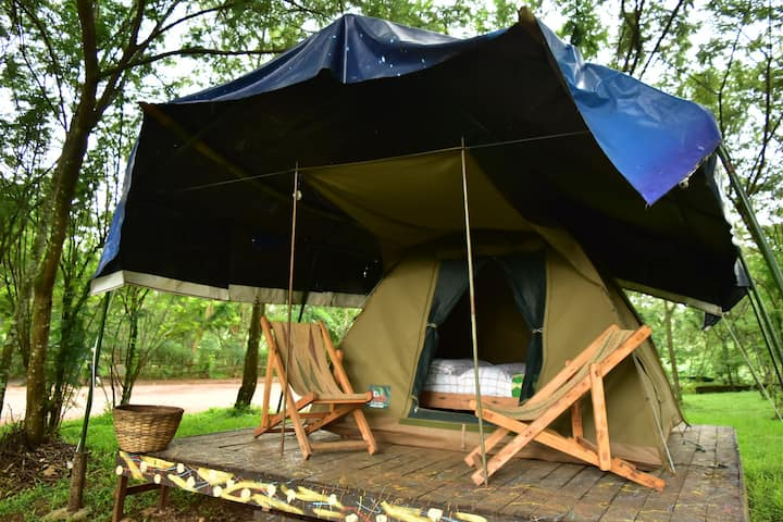 RedRocks Hostel &Campsite- Double Tent