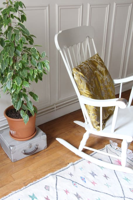 Rocking chair cosy