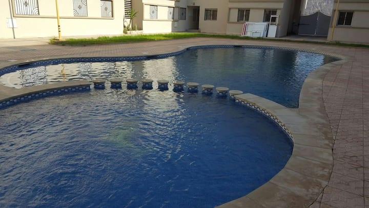 beau appartement au coeur de saidia avec piscine