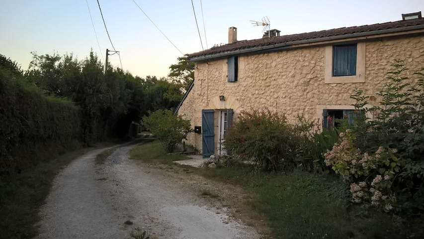 Nicely renovated wine-grower house - Fargues-Saint-Hilaire - Hus