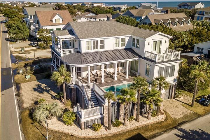 All Sea-Sun, 6BR/6.5BA Second Row Beach House