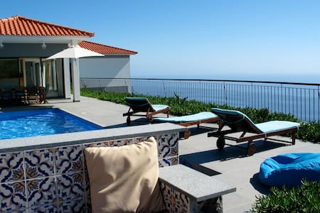 Quinta Falcoes - A villa with an amazing view - Estreito da Calheta