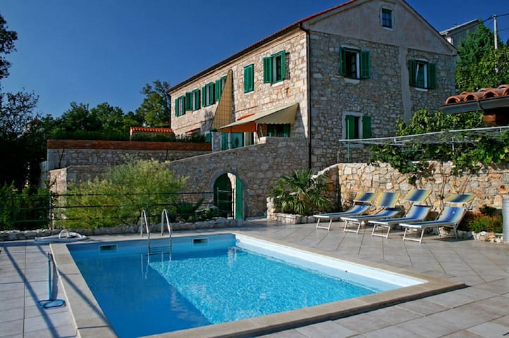Rural Villas Crikvenica - Villa Milka, sea view