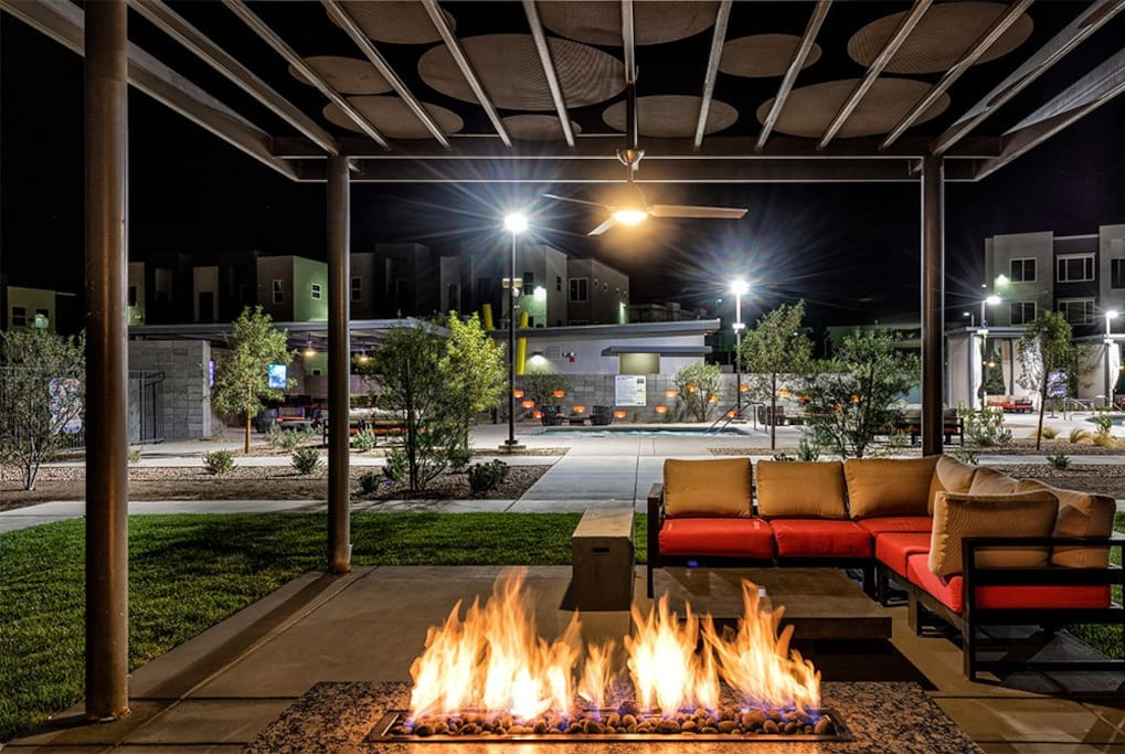 OutDoor Fire-pit (poolside)