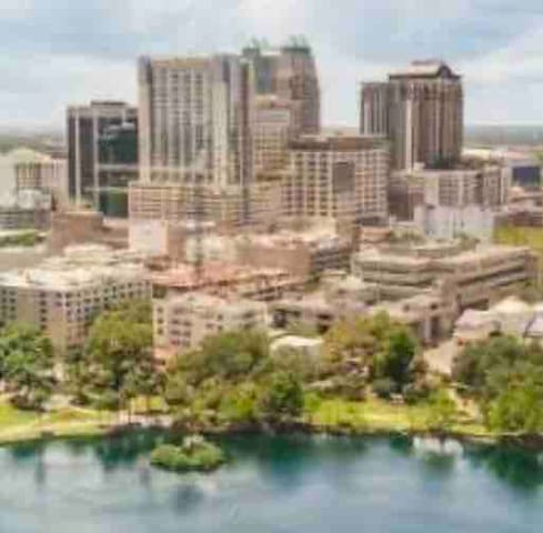 Thornton park Lake Eola 1 Bedroom Condo