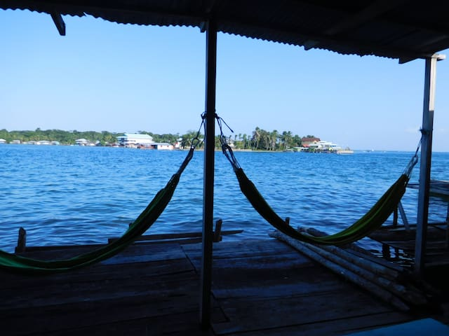 Leyca´s House - over the water - Bocas del Toro - Ev
