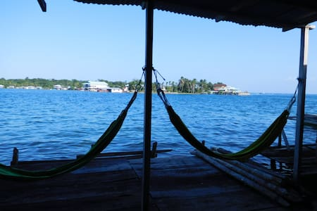 Leyca´s House - over the water - Bocas del Toro - 단독주택