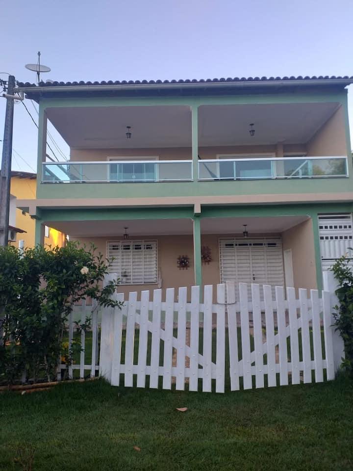 Casa Excelente na Praia de Pratigi-Ba