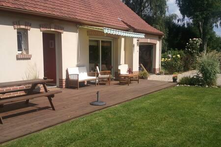 Maison agréable à vivre avec grand jardin. - Le Bois-Robert