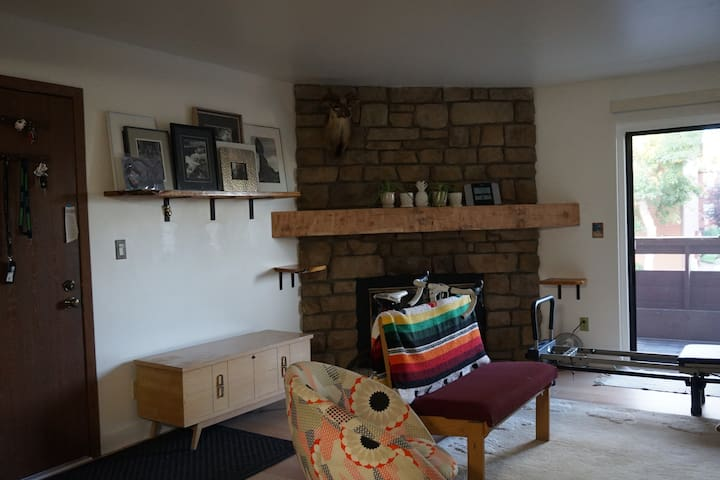 All yours - 1 mile west of  Sloans Lake - 1 BR Apt