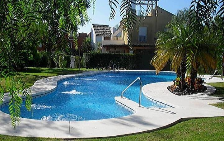 Los Jándalos-Vistahermosa(ParkingWifi&Pool all in)