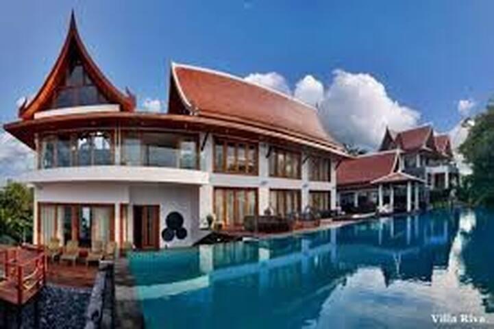 Luxury retreats Villas. 4-7 bedroom - Ko Samui - Villa
