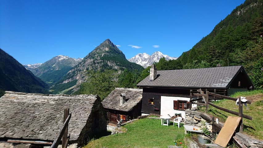 Cottage/Chalet in the peace of the mountain