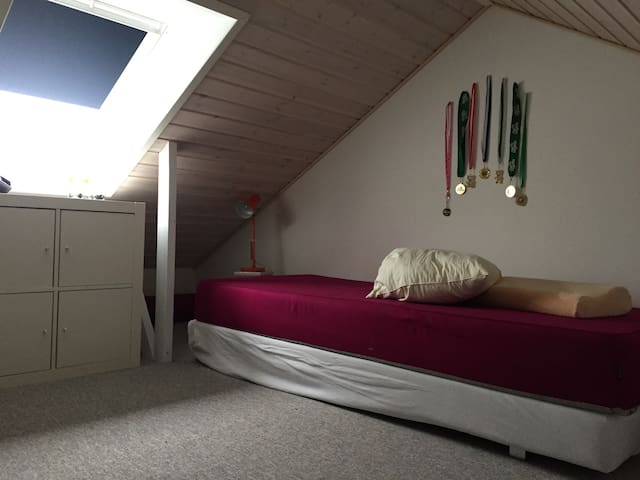 2-4 per. 2 rooms + 2 loftrooms w. window. Legoland - Kolding - Casa
