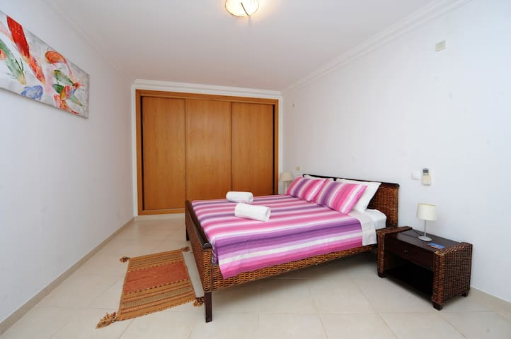 Master Bedroom. Bright and very spacious. Direct access to the balcony. Plenty of wardrobe and storage space. Fitted safe.