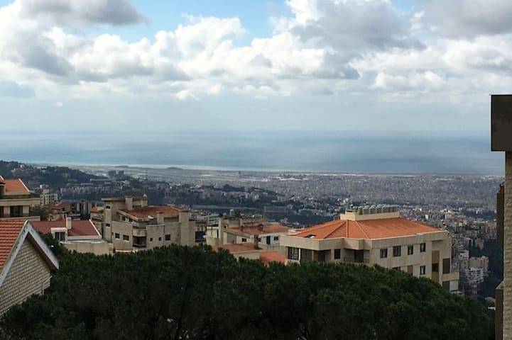 Amazing Apartment in Ain Saadeh - Panoramic views