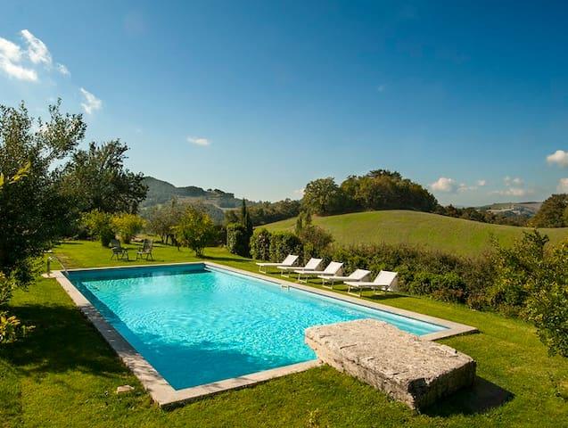 Villa Tramonto-Privacy & Scenic - Provincia di Siena - Casa