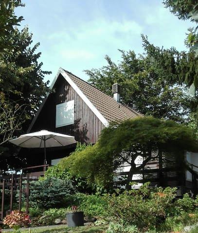 Cottage in legno fra i Laghi Maggiore e Orta.
