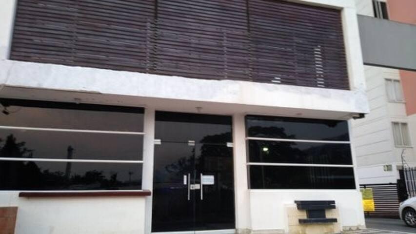 Fachada principal Unidad Residencial Guadalupe Real.
