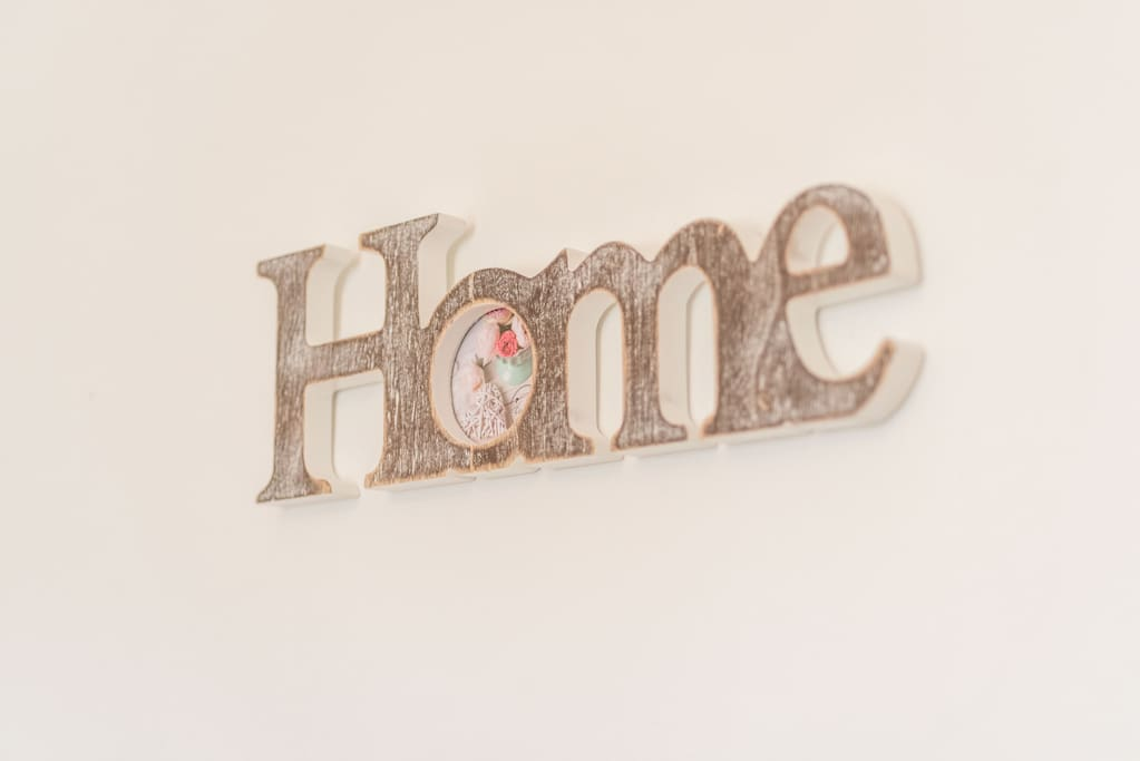 Home is where you are happy.