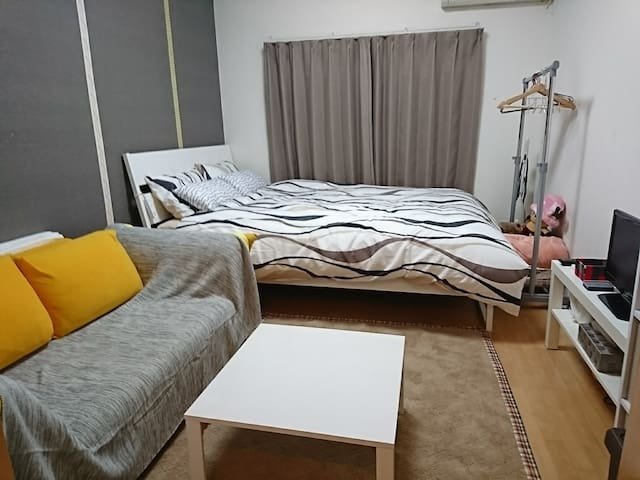 2. Shinsaibashi area 9min WALK!Free Internet!