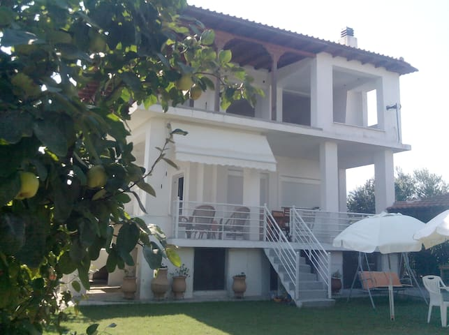 Beautiful villa 50 metres by the  beach!!