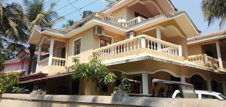 Approximately  2km from colva beach