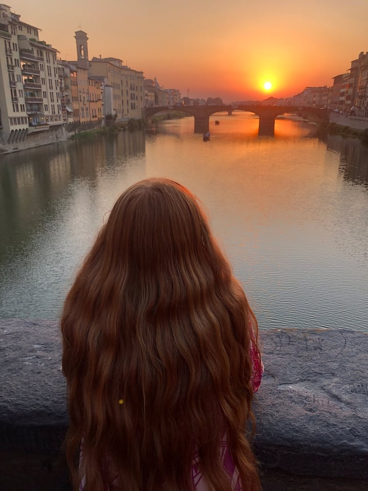 A walk in Florence!