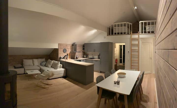 Modern topfloor apartment in Åre/ Tegefjell
