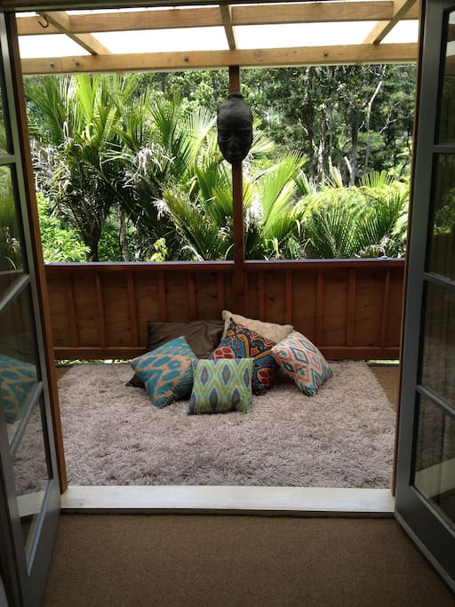 French doors from bedroom opening to your balcony