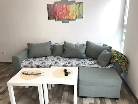 Apartment in Burgas+free personal parking space