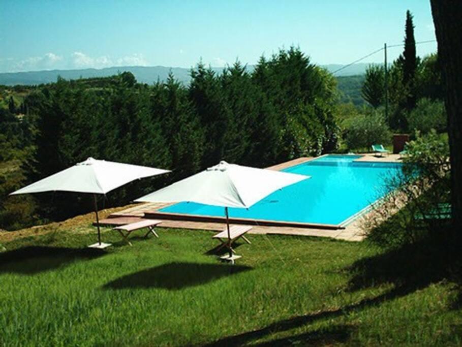 la ns splendida piscina x la buona stagione