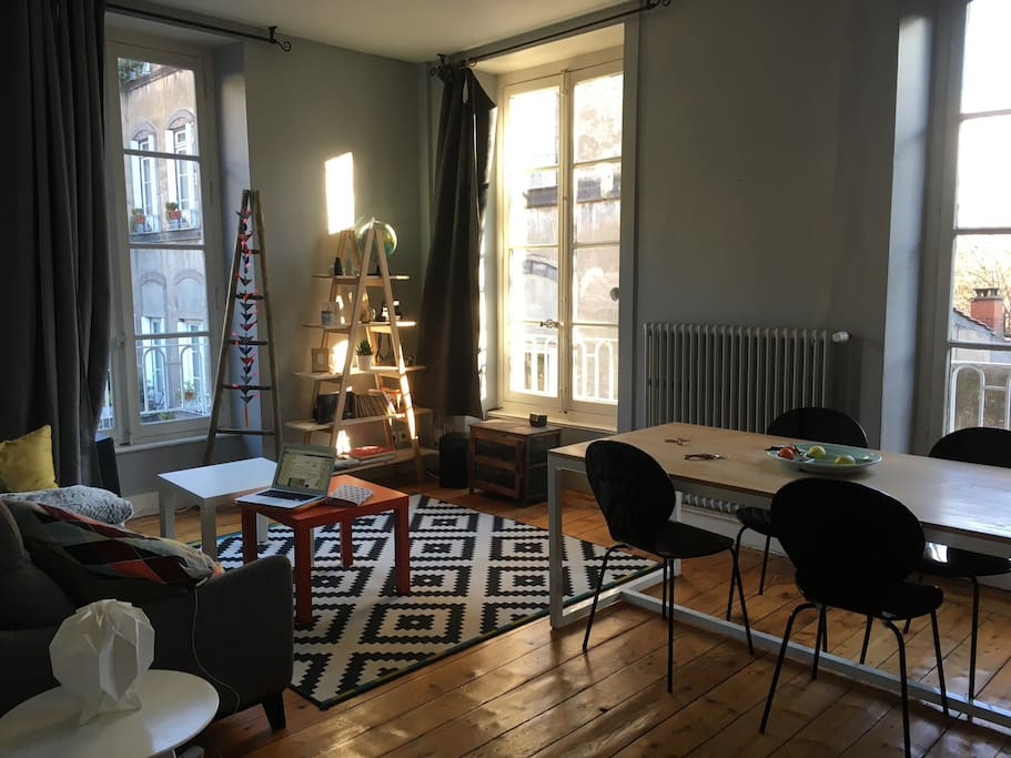 Chambre dans appartement de charme centre ville - Chambre d hotes clermont ferrand centre ...
