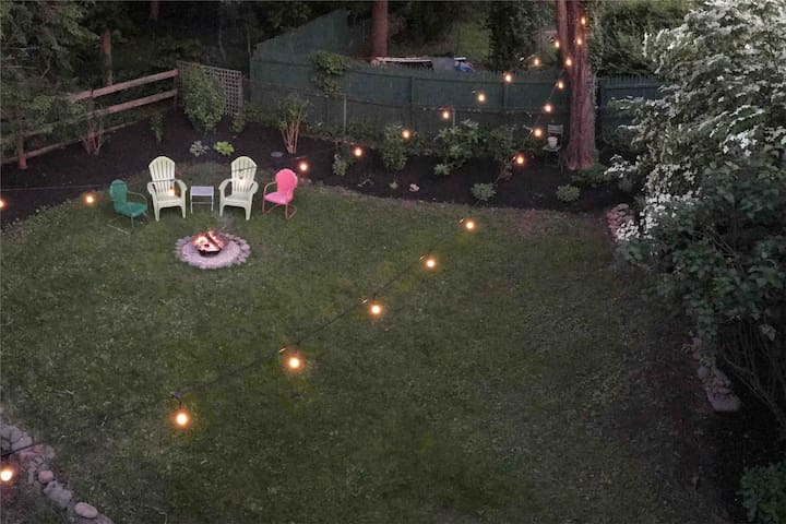 Relax around the firepit