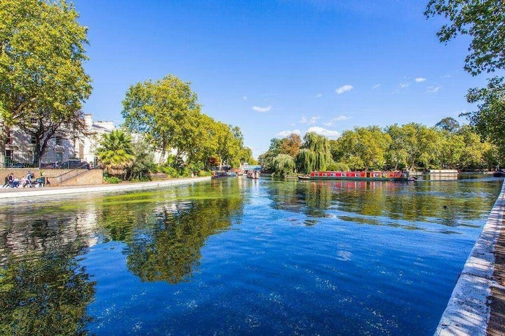 Beautiful 1 Bed Garden Flat on the Regents Canal