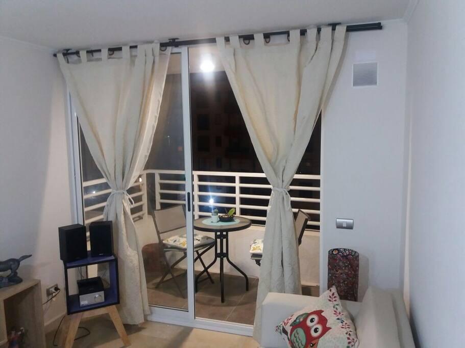 Living con terraza - TV 32' - WiFi - TV Cable
