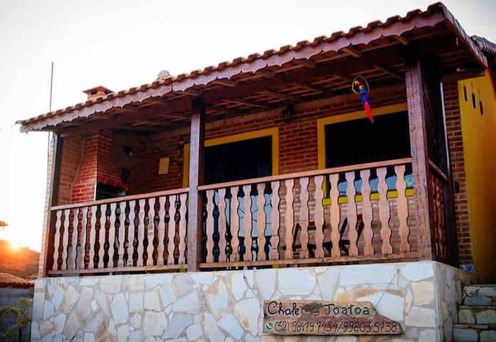 Chalé Toatôa - MG (Ótima localização em Ibitipoca)