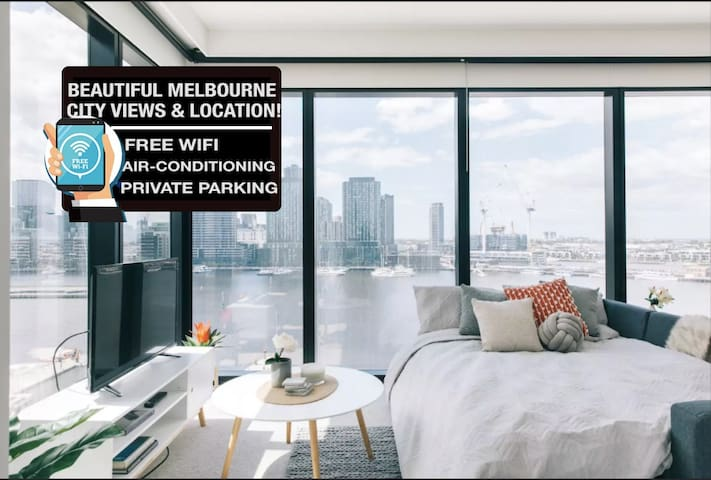 Docklands Apartment w Parking MARVEL STADIUM