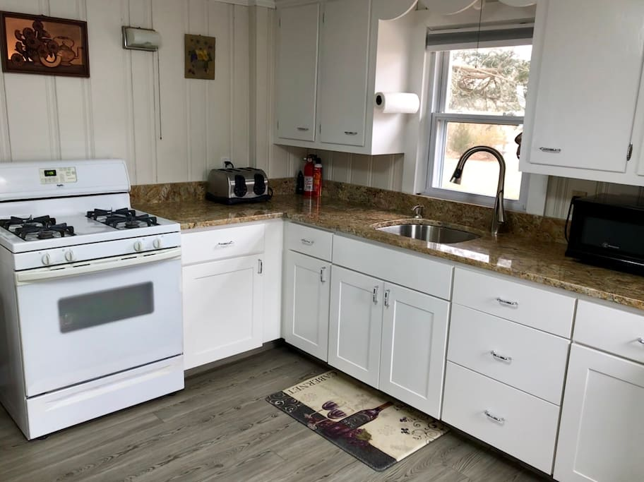 Newly remodeled kitchen in 2018