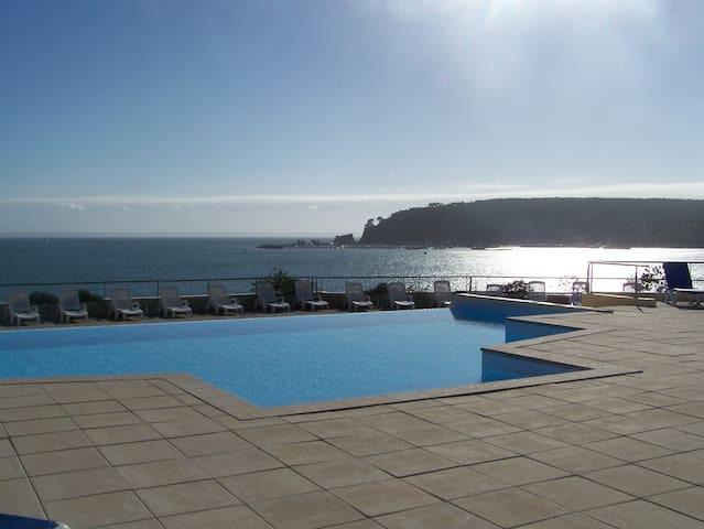 Appartement sur la mer à Morgat - Crozon - Huoneisto