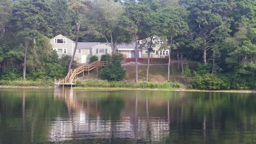 Private, Spacious, Water Front Home on Cape Cod